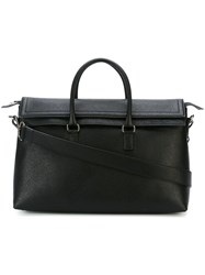 Salvatore Ferragamo Medium Trapeze Tote Black