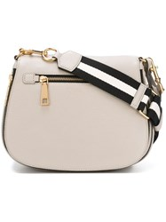 Marc Jacobs 'Gotham' Saddle Crossbody Bag Nude And Neutrals