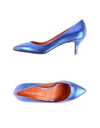 Luca Valentini Pumps Blue