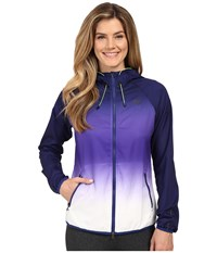 New Balance Windcheater Hybrid Jacket Toxic Galapagos Women's Coat