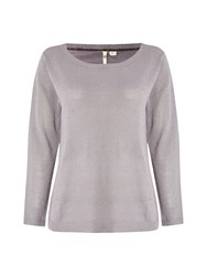 White Stuff Astonish Knit Top Grey
