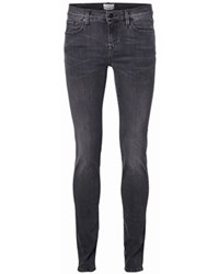 Selected Sfelena Grey Skinny Jean