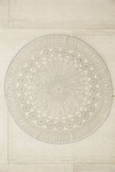 Plum And Bow Florisse Printed Round Rug Urban Outfitters