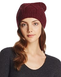 Bettina Slouchy Knit Beanie Bordeaux