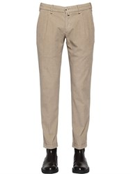Lardini 18Cm Stretch Cotton Corduroy Pants