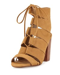 Splendid Banden Nubuck Lace Up Sandal Maple