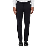 Barneys New York Men's Twill Pisa Trousers Navy