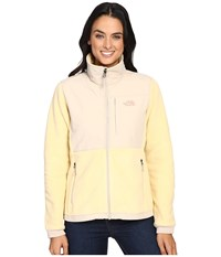 The North Face Denali 2 Jacket Marzipan Doeskin Brown Women's Coat Yellow