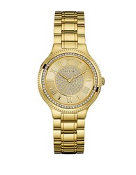Guess Madison Analog Movement Stainless Steel Watch Gold