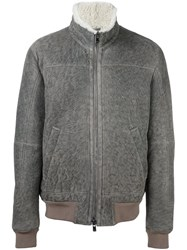 Drome Shearling Jacket Grey