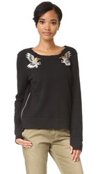Pam And Gela Embroidered Sweatshirt Black
