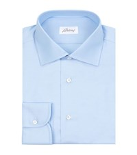 Brioni Cotton Twill Shirt Male