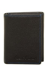 Robert Graham Klein Trifold Leather Wallet Black