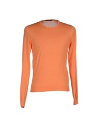 Become Knitwear Jumpers Men Orange