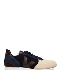 Veja Holiday Canvas Low Top Sneakers Navy