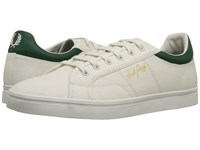 Fred Perry Sidespin Canvas Porcelain Ivy Men's Lace Up Casual Shoes Beige