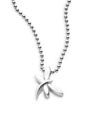 Alex Woo Sterling Silver Dragonfly Necklace