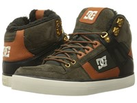 Dc Spartan High Wc Wnt Military Men's Shoes Olive