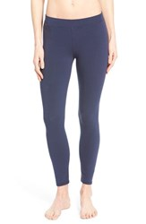 Women's Nordstrom 'Go To Skimmer' Ankle Leggings Navy Iris