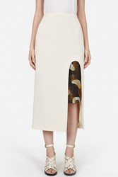 Opening Ceremony Talene Layered Mid Calf Skirt Sycamore