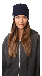Adidas By Stella Mccartney Run Beanie Night Navy Black Black