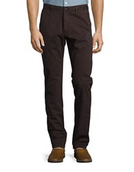 Strellson Twill Chino Pants Dark Brown