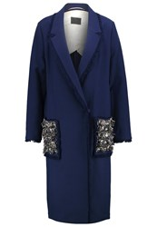 By Malene Birger Zanandos Classic Coat Indigo Dark Blue