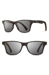 Shwood Women's 'Canby Feather' 55Mm Feather And Wood Sunglasses