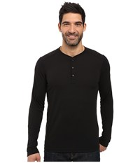 The North Face Long Sleeve Crag Henley Tnf Black Men's Clothing
