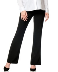 Motherhood Maternity Flared Dress Pants Black