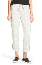 French Terry Roll Tab Pants Nordstrom Exclusive Grey