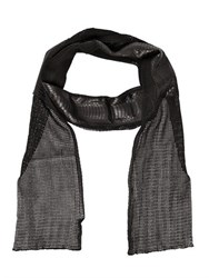 Cutuli Cult Cotton Net And Ayers Snakeskin Scarf