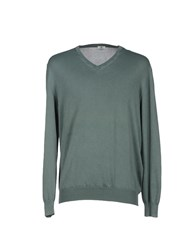 Luigi Borrelli Napoli Knitwear Jumpers Men Military Green