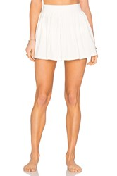 Kate Spade Pleated Skirt Cover Up Cream