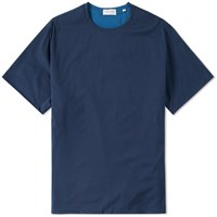 Tomorrowland Contrast Jersey Tee Blue