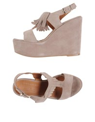 Fiorina Footwear Sandals Women Dove Grey