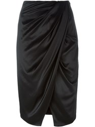 Camilla And Marc 'Mandolin' Skirt Black