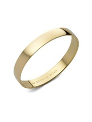 Kate Spade As Good As Gold Engraved Idiom Bangle Bracelet