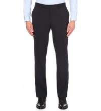 The Kooples Stright Leg Wool Trousers Navy