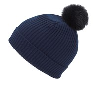 Paul Smith Accessories Women's Cashmere Beanie Navy