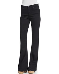 Ag Adriano Goldschmied Janis High Waist Super Flare Jeans Black Size 31