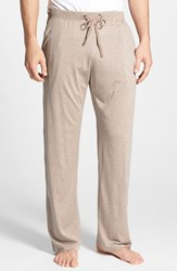 Daniel Buchler Men's Silk And Cotton Lounge Pants