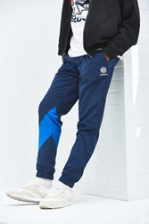 Reebok Colorblock Championship Warm Up Pant Blue