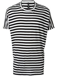 Barbara I Gongini Striped T Shirt Black