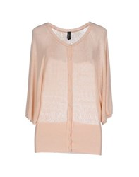 Gotha Knitwear Cardigans Women Skin Colour