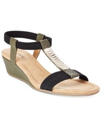 Alfani Women's Vacay Wedge Sandals Only At Macy's Women's Shoes Moss Snake