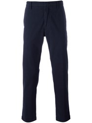 Pence Straight Leg Trousers Blue