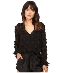 Alice Mccall In Bloom Blouse Black Women's Blouse