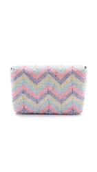 Santi Chevron Box Clutch Multi