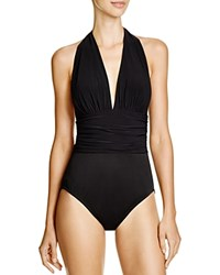 Magicsuit Solid Yves One Piece Swimsuit Black